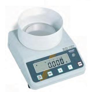 Elektr. Digital Gold- und Laborwaage, eichfähig bis 0,150 kg / 0,001 g