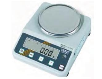 Elektr. Digital Gold- und Laborwaage, eichfähig bis 0,600 kg / 0,01 g