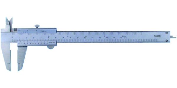 Messschieber mit Feststellschraube 150 mm