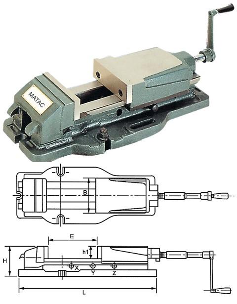 mechanisch hydraulischer Maschinenschraubstock