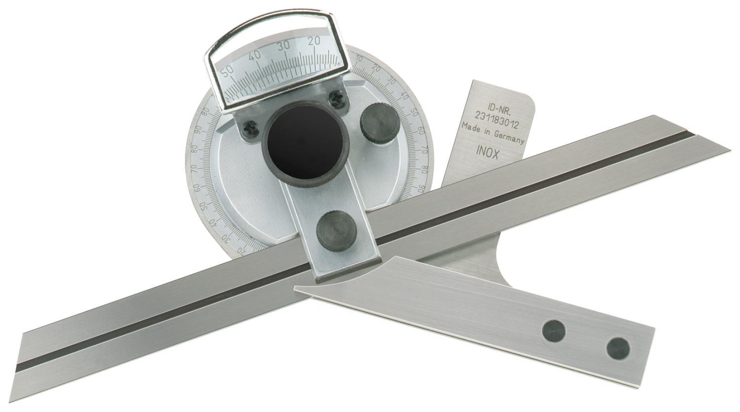 Universal - Winkelmesser Präzisionsausführung mit Feineinstellung 150 mm