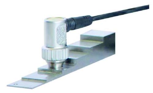 4-Stufen-Testblock für Materialdickenmessgeräte 1 - 10 mm