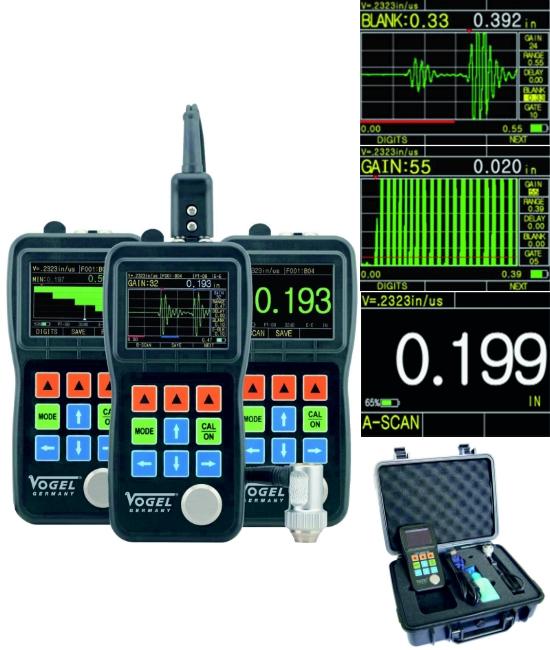 Echo-Echo Ultraschall Materialdickenmessgerät