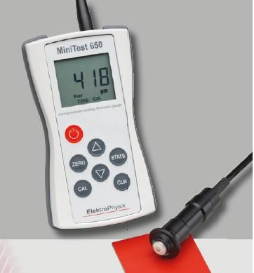 portables Schichtdickenmessgerät 0 - 3000 µm
