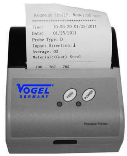 Mini-Thermo-Drucker für Materialdickenmessgeräte
