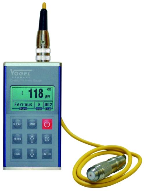 Universal Schichtdickenmessgerät, externe Sonde 0 - 1250 µm