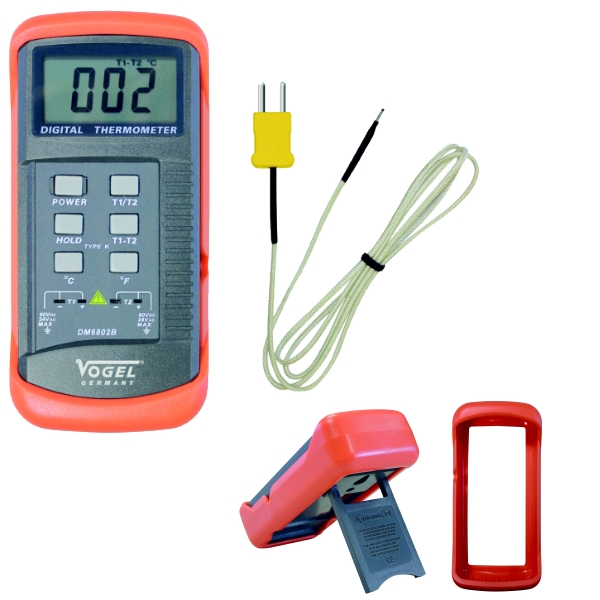 Digital - Temperaturmessgerät, mit Messfühler -50°C - +1300°C