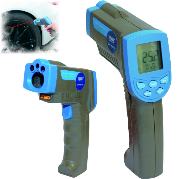Infrarot Laser - Thermometer, Pyrometer -30°C - +550°C