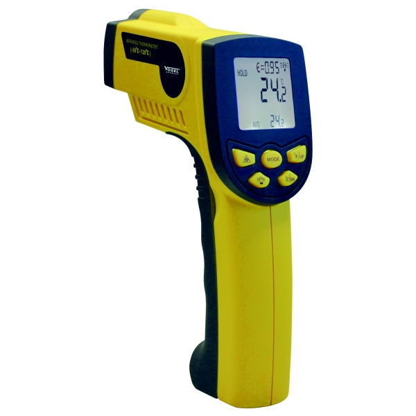 Infrarot Laser - Thermometer, Pyrometer -50°C - +720°C