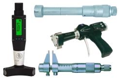 Präzisions-Innenmessschrauben, digital und analog in. 3-Punkt Innenmessschrauben und 2-Punkt Innenmessschrauben